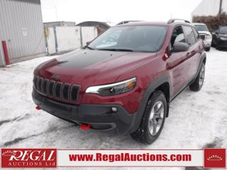 Used 2019 Jeep Cherokee Trailhawk 4D Utility 4WD 2.0L for sale in Calgary, AB