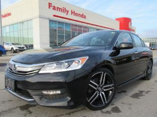 Used 2016 Honda Accord Sedan 4dr I4 CVT Sport | PUSH START | for sale in Brampton, ON