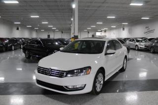 Used 2012 Volkswagen Passat HIGHLINE I LEATHER I SUNROOF I REMOTE STARTER I HEATED SEATS for sale in Mississauga, ON