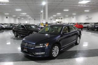 Used 2013 Volkswagen Passat TDI HIGHLINE I NO ACCIDENTS I NAVIGATION I LEATHER I SUNROOF for sale in Mississauga, ON