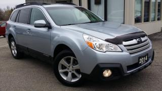 Used 2014 Subaru Outback 2.5i Limited - LEATHER! NAV! BACK-UP CAM! ACCIDENT FREE! for sale in Kitchener, ON
