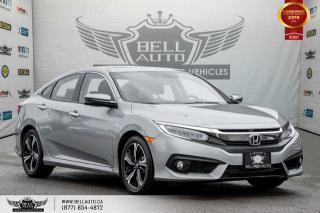 Used 2017 Honda Civic Sedan Touring, NO ACCIDENT, NAVI, REAR CAM, B.SPOT CAM for sale in Toronto, ON