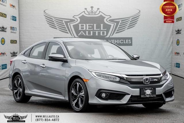2017 Honda Civic Sedan Touring, NO ACCIDENT, NAVI, REAR CAM, B.SPOT CAM