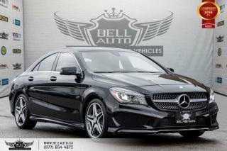 Used 2016 Mercedes-Benz CLA-Class CLA 250, NO ACCIDENT, AWD, NAVI, REAR CAM, SENSORS for sale in Toronto, ON
