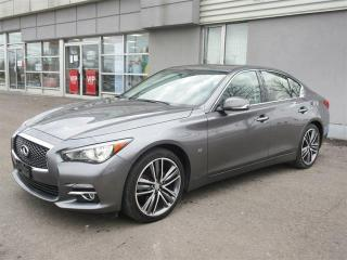Used 2015 Infiniti Q50 Limited AWD / Leather/Power Sunroof/Built in navigation/Camera/Push Start/Heated seats/Clear Out Price for sale in Mississauga, ON