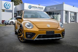 Used 2018 Volkswagen Beetle 2.0 TSI Dune <b>*KEYLESS ENTRY* *NAVIGATION* *SUNROOF* *HEATED SEATS* *BACK UP CAM*<b> for sale in Surrey, BC