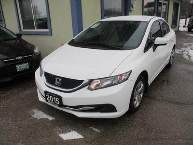 2015 Honda Civic FUEL EFFICIENT LX EDITION 5 PASSENGER 1.8L - SOHC.. ECON-MODE PACKAGE.. HEATED SEATS.. CD/AUX INPUT.. BACK-UP CAMERA.. KEYLESS ENTRY..
