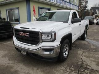 Used 2017 GMC Sierra 1500 LIKE NEW SL EDITION 3 PASSENGER 5.3L - VORTEC.. 4X4.. REGULAR CAB.. 8-FOOT BOX.. BACK-UP CAMERA.. TRAILER BRAKE.. AUX/USB INPUT.. for sale in Bradford, ON