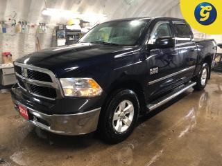 Used 2014 RAM 1500 Crew Cab * 4X4 * 3.6L V6 * chrome side steps * Window rain guards * Tonneau Cover * Foldaway side mirrors * Heated mirrors * Power windows/mirrors/loc for sale in Cambridge, ON