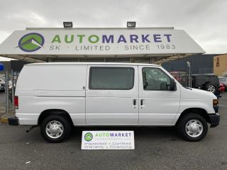 Used 2013 Ford Econoline E-150 CARGO FREE WARRANTY! FREE BCAA! ON SITE FINANCING! for sale in Langley, BC