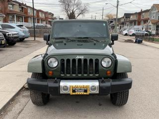 Used 2009 Jeep Wrangler UNLIMITED 4WD 4DR SAHARA for sale in Scarborough, ON