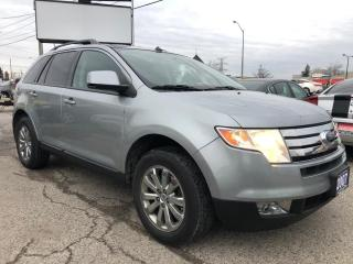 Used 2007 Ford Edge SEL, ONE OWNER, ACCIDENT FREE, WARRANTY, CERTIFIED for sale in Woodbridge, ON