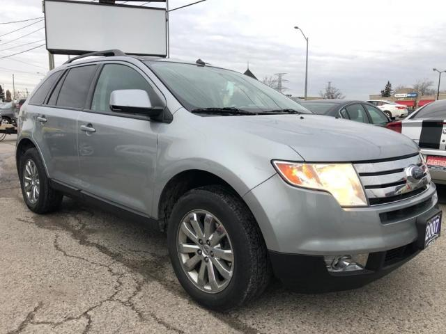 2007 Ford Edge SEL, ONE OWNER, ACCIDENT FREE, WARRANTY, CERTIFIED