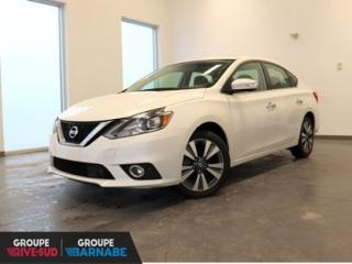 Used 2017 Nissan Sentra SL CUIR ** NAVI ** TOIT OUVRANT ** MAGS JAMAIS ACCIDENTÉ for sale in Brossard, QC