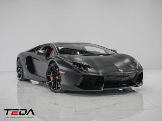Used 2014 Lamborghini Aventador LP700-4 COUPE for sale in North York, ON