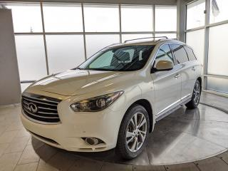 Used 2014 Infiniti QX60 One Owner! Accident Free Carfax! Two Sets of Rims and Tires! for sale in Edmonton, AB