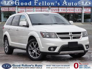Used 2016 Dodge Journey R/T MODEL, 7 PASS, LEATHER SEATS, AWD, 6CYL, NAVI for sale in Toronto, ON