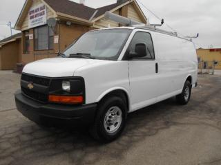 Used 2011 Chevrolet Express 2500 CARGO 2500HD Rack Divider Shelving ONLY 90,000KMs for sale in Rexdale, ON