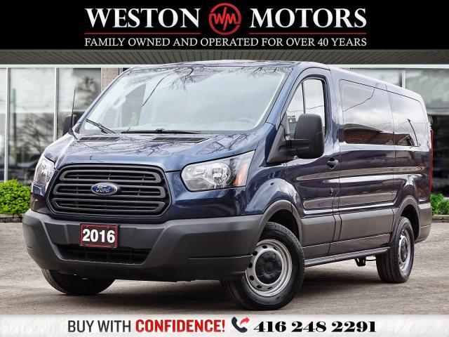 2016 Ford Transit 150 REAR WINDOWS*SHELVING*REVERSE CAMERA!!*