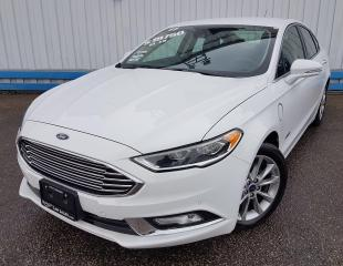Used 2017 Ford Fusion Energi *LEATHER-NAVIGATION* for sale in Kitchener, ON