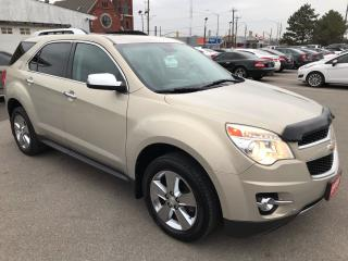 Used 2012 Chevrolet Equinox LTZ ** NAV, AUTOSTART , BACKP CAM, HT LEATH ** for sale in St Catharines, ON