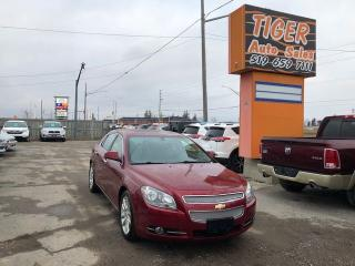 Used 2011 Chevrolet Malibu LTZ**LEATHER**SUNROOF**4 CYLINDER**ALLOYS**CERT. for sale in London, ON