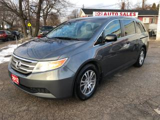 Used 2012 Honda Odyssey EX/1 Owner/8 Passenger/Pwr Sliding Doors for sale in Scarborough, ON
