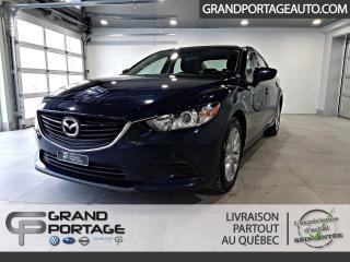 Used 2016 Mazda MAZDA6 GS 2.5 L *SKYACTIV* Auto *Caméra for sale in Rivière-Du-Loup, QC