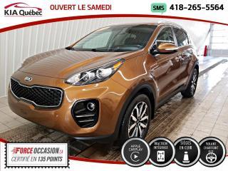 Used 2018 Kia Sportage EX* AWD* CUIR* CAMERA* CARPLAY* for sale in Québec, QC