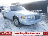 Photo of Blue 1997 Lincoln TOWN CAR EXECUTIVE 4D SEDAN