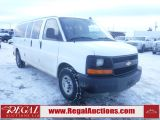 Photo of White 2016 Chevrolet EXPRESS 3500 LS 10 PASSENGER WAGON