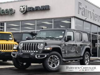 New 2020 Jeep Wrangler Unlimited Sahara for sale in Burlington, ON