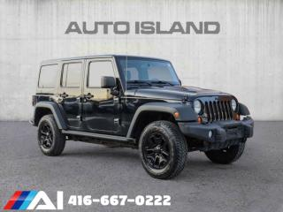 Used 2013 Jeep Wrangler Unlimited 4WD 4dr for sale in North York, ON