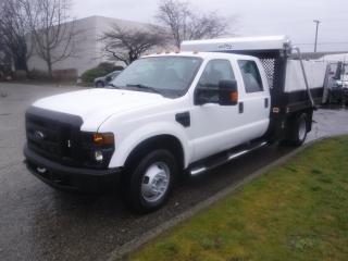 Used 2008 Ford F-350 SD Crew Cab Dump Truck 2WD for sale in Burnaby, BC