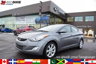 Used 2013 Hyundai Elantra Limited w/Navi for sale in Mississauga, ON