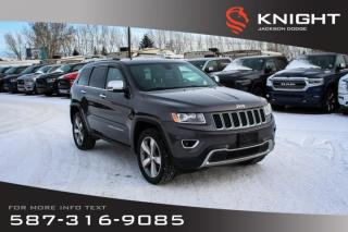 Used 2014 Jeep Grand Cherokee Limited - NAV, Sunroof, Leather for sale in Medicine Hat, AB