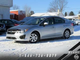 Used 2013 Subaru Impreza 2.0i + AWD + BLUETOOTH + A/C! for sale in Magog, QC