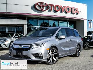 Used 2019 Honda Odyssey Touring Navigation! Back up camera! Heated leather seats! 8 seats! for sale in Surrey, BC