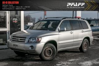 Used 2006 Toyota Highlander 4-door 4WD V6 5A 7-Pass for sale in Orangeville, ON