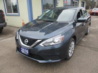 Used 2016 Nissan Sentra GAS SAVING SV MODEL 5 PASSENGER 1.8L - DOHC.. SPORT-MODE.. ECO-MODE.. CD/AUX INPUT.. KEYLESS ENTRY.. for sale in Bradford, ON