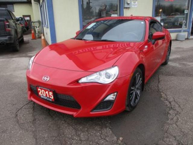2015 Scion FR-S 6-SPEED MANUAL 'SPORTY' 4 PASSENGER 2.0L - 16 VALVE.. SPORT-MODE.. CD/AUX/USB INPUT.. BLUETOOTH SYSTEM.. KEYLESS ENTRY..