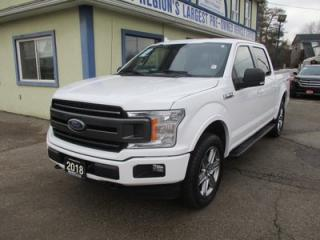 Used 2018 Ford F-150 WORK READY XLT EDITION 5 PASSENGER 5.0L - V8.. 4X4.. CREW.. SHORTY.. NAVIGATION.. PRO-TRAILER ASSIST.. BACK-UP CAMERA.. POWER PEDALS.. for sale in Bradford, ON