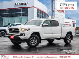 Used 2017 Toyota Tacoma SR5 - 1 OWNER|BLUETOOTH|BACKUP CAMERA|ALLOYS for sale in Ancaster, ON