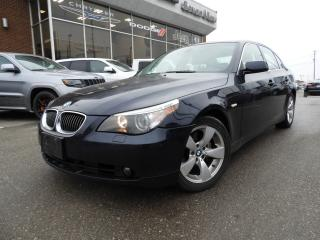 Used 2007 BMW 525 i LEATHER/SUNROOF for sale in Concord, ON