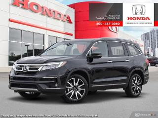 New 2020 Honda Pilot Touring 8P TOURING for sale in Cambridge, ON