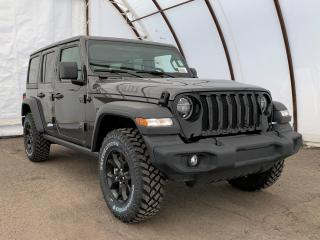 New 2020 Jeep Wrangler Unlimited Sport UNLIMITED WILLYS WHEELER 4X4 for sale in Ottawa, ON