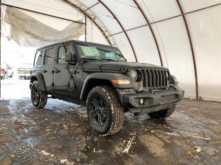New 2020 Jeep Wrangler Unlimited Sport UNLIMITED SPORT ALTITUDE 4X4 for sale in Ottawa, ON