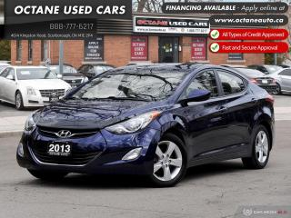 Used 2013 Hyundai Elantra GLS! No Claim! Certified! for sale in Scarborough, ON