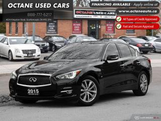 Used 2015 Infiniti Q50 Accident-Free! Top Condition! for sale in Scarborough, ON
