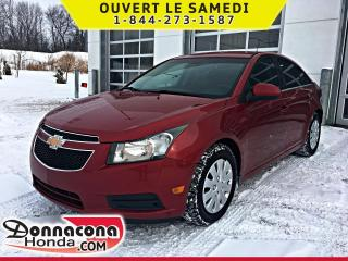 Used 2011 Chevrolet Cruze LT, 1SB *BLUETOOTH* for sale in Donnacona, QC